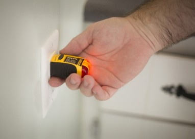 We test every outlet we can access for proper wiring