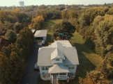 Aerial Shot of a Home